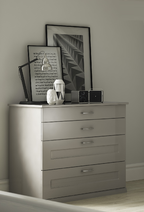 Free Standing - Cashmere 4 Drawer